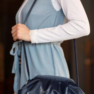 Women's Navy Blue Shoulder Bag