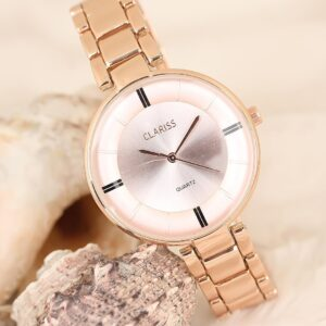 Women's Rose Metal Cord Elegant Case Watch