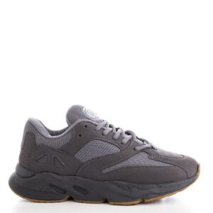 حذاء رياضة كريب رمادي غامق نسائي