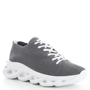 حذاء رياضي رمادي غامق نسائي