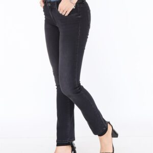 Women's Pocketed Anthracite Jeans
