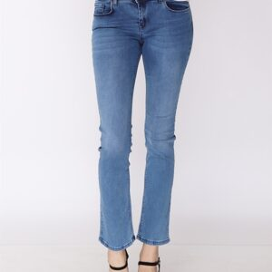 Women's Pocketed Blue Jeans