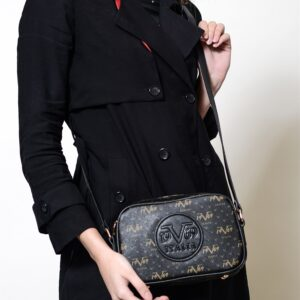 Women's Strappy Black Bag