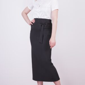 Women's Bow-tie Detail Midi Pencil Skirt