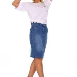 Women's Denim Short Skirt