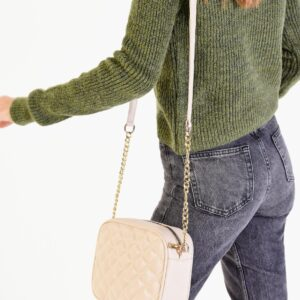 Women's Beige Shoulder Bag