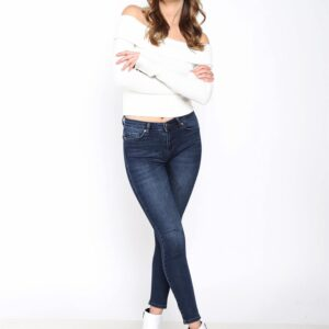 Women's Navy Blue Jeans